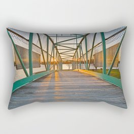 Casino Island Sunset Bridge Rectangular Pillow