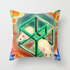 Life, as many people have spotted, is, of course, terribly unfair. Throw Pillow