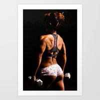 fitness Art Prints featuring Fitness by Eric Lauritzen