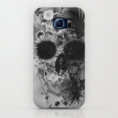 Garden Skull B&W Slim Case Galaxy S7