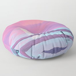 Ocean Pyramid Floor Pillow