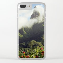 Marquesas Islands Of Mystery Clear iPhone Case