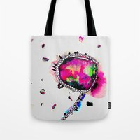 voyage Tote Bags featuring voyage by Georgiana Paraschiv