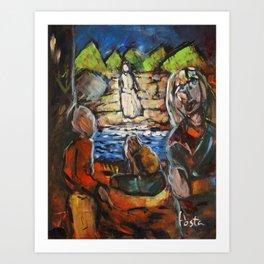 """The Span Between"" Art Print"