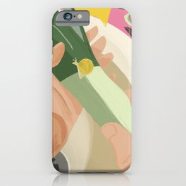 A Snail tale iPhone Case