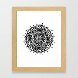 Madala 5 Framed Art Print