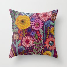 la reparation du jardinier Throw Pillow