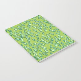 Rockwell Birds - Green Notebook