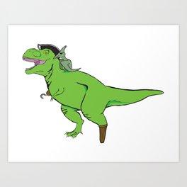Tyrannosaurus Arrrrrex Art Print