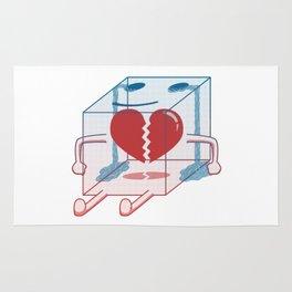 Little Box of Broken Heart Rug