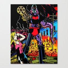 ULTRA-DESTROYER Canvas Print