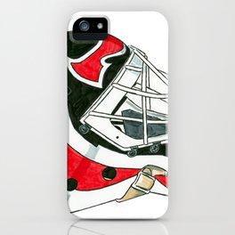 Brodeur - Mask iPhone Case