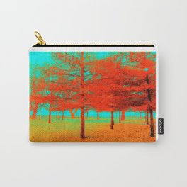 Vintage Trees at the Beaches in Toronto Carry-All Pouch