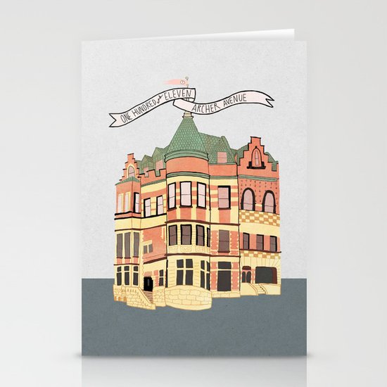 Archer Avenue Stationery Cards