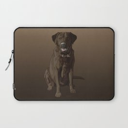 Chocolate Labrador Retriever Brown Dog Laptop Sleeve