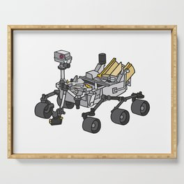 Curiosity, the Marsrover Serving Tray