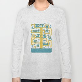 Monkeys Family Long Sleeve T-shirt