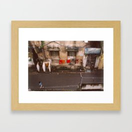 Indian Alley Framed Art Print