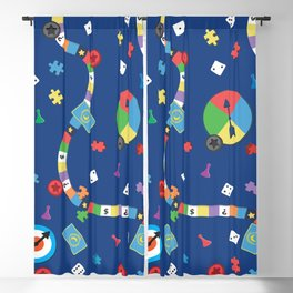 Board Game Pattern Blackout Curtain