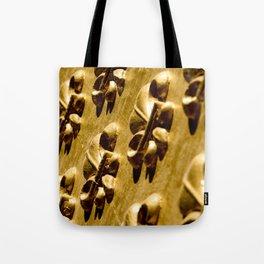 Parisian Gold Fluer De Lis Embossed Design Tote Bag
