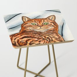 Ginger Cat Side Table