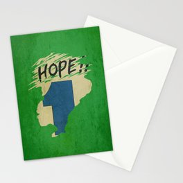 Hope!! (time machine ) Stationery Cards