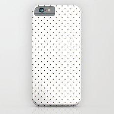 Black polka dots Slim Case iPhone 6