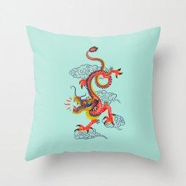 Shen Long Throw Pillow