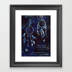 Dreamcatcher Framed Art Print