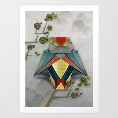 Origami Owl Art Print