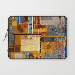 Meandering the Cellar of Peace Contemporary Abstract Laptop Sleeve