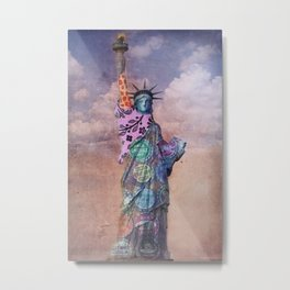 Famous Statues Series #1 Metal Print
