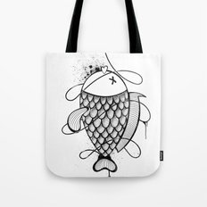 Black Corocoro Tote Bag