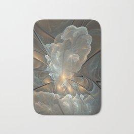 I had a dream, Abstract Fractal Art Bath Mat