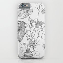 Monstera. Living iPhone Case