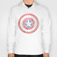 steve rogers Hoodies featuring Who is Steve Rogers? by dailymantra