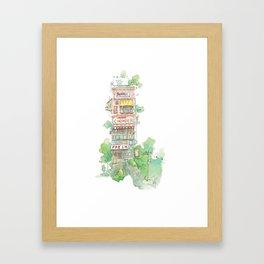 Chowder Framed Art Print