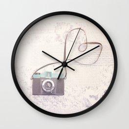 dear Diana ... Wall Clock