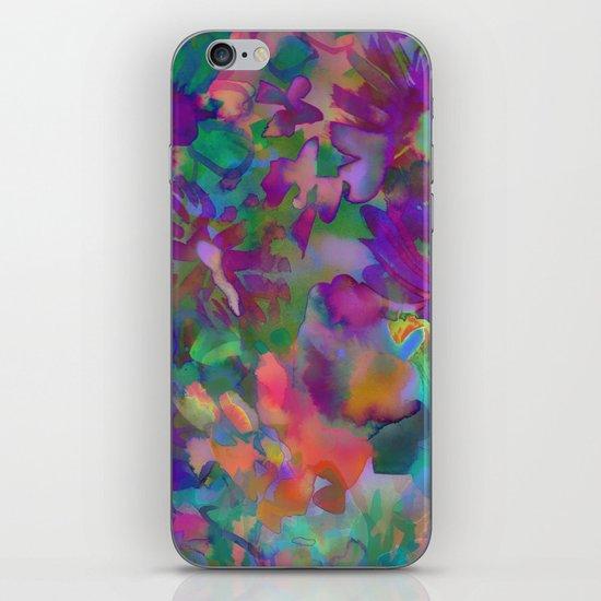 Jungle Floral iPhone & iPod Skin