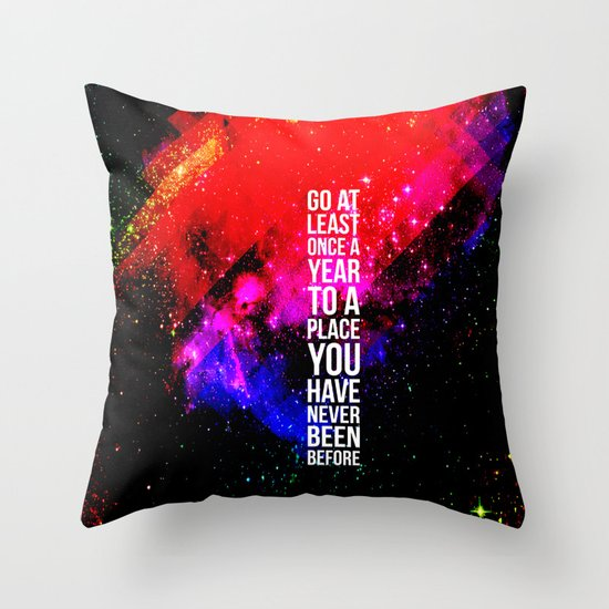 Travel! Throw Pillow