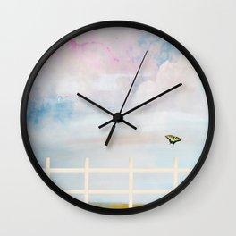 Enjoy Each Day Wall Clock