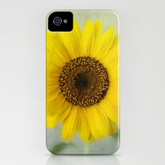 Sunflower iPhone (4, 4s) Slim Case