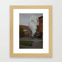 A God in an Alcove Framed Art Print
