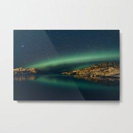 The northern Lights Metal Print