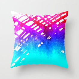 Performing color Throw Pillow