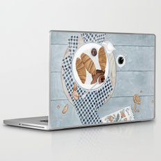 Croissants With Cherry Jam Laptop & iPad Skin
