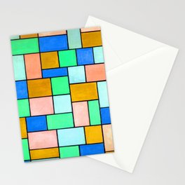 Theo van Doesburg Composition in Dissonances Stationery Cards