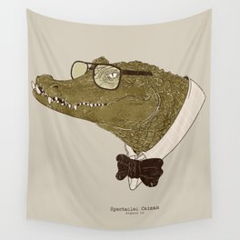 Spectacle(d) Caiman Wall Tapestry