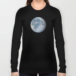 Moon Portrait 6 Long Sleeve T-shirt