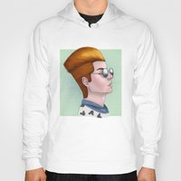 tim shumate Hoodies featuring TIM ACID by Greenteaelf